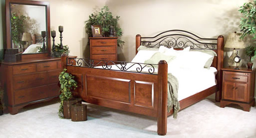 Hand Crafted Brookstone Andover Bed Queen