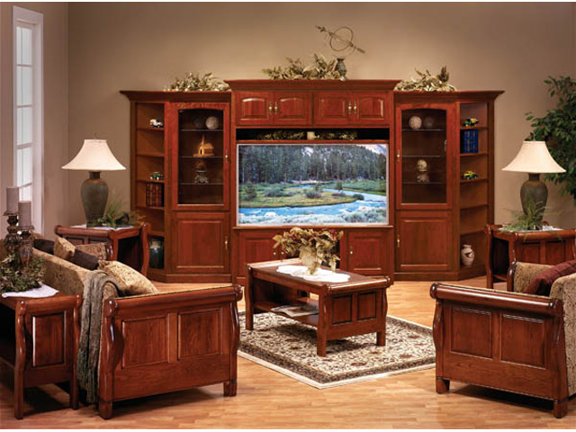 Living room sets living room bartolotta 39 s amish way Entertainment living room furniture